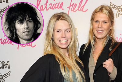 <b>Daughters of:</b> Rolling Stone guitarist Keith Richards.<br/><br/><b>Famous for:</b> Being socialite model/DJs.