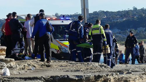 An 18-year-old man has suffered significant head injuries after falling from a rock ledge in Dee Why.