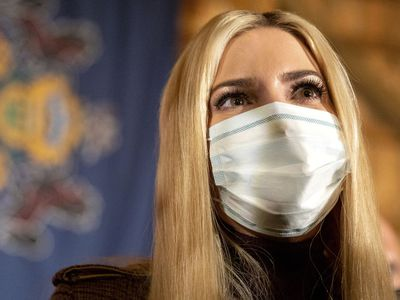 Ivanka Trump during the US election campaign, 2020