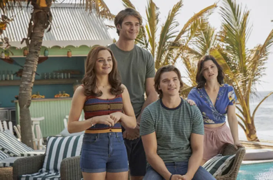 The movie is set to mark the end of the 'Kissing Booth' trilogy.