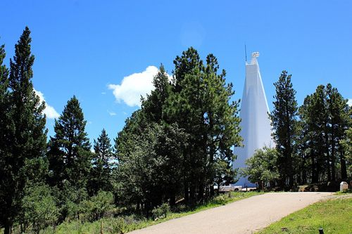 The telescope at the Sunspot Solar Observatory in New Mexico is one of the world's best.