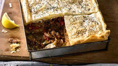 """<a href=""""http://kitchen.nine.com.au/2016/06/16/11/24/lamb-baklava"""" target=""""_top"""">Lamb baklava</a> recipe"""