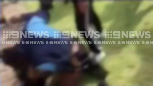 Students say they are too scared to go to class. (Picture: 9 News)