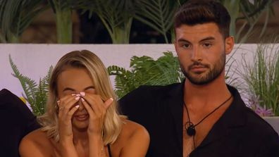Millie was in tears after Liam's actions surfaced Love Island UK 2021