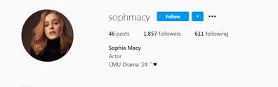Sophia Macy bio