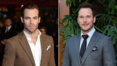 Chris Pine and Chris Pratt