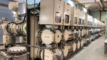 A secret underground bunker is  expected to protect the state's power supply from attacks.