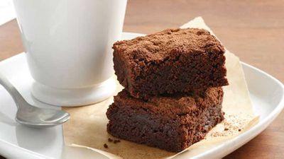 """Gluten-free chocolate fudge brownies <a href=""""http://kitchen.nine.com.au/2016/05/17/11/35/glutenfree-chocolate-fudge-brownies"""" target=""""_top"""">recipe</a>"""