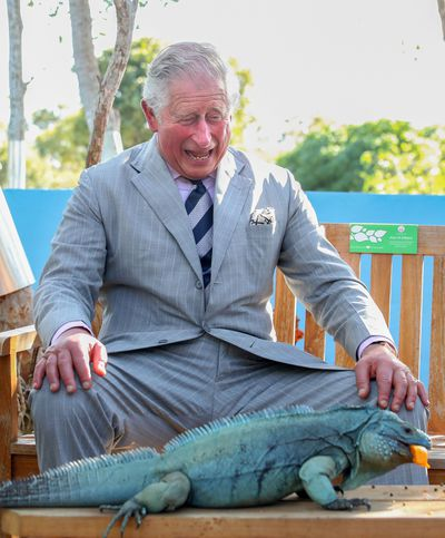 Prince Charles in the Cayman Islands, March 2019