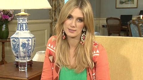 Watch: What made Delta Goodrem give us a death stare?