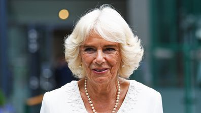 The Duchess of Cornwall was travelling by helicopter when it was involved in two near misses.