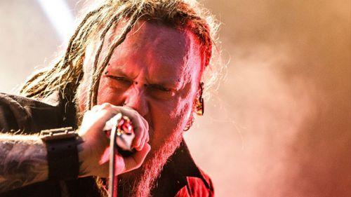 Vocalist Rafal 'Rasta' Piotrowski is seen live on stage in December 2016. (Getty)
