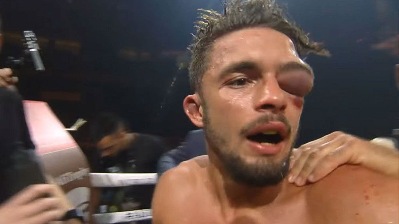 Boxer Anthony Yigit suffers 'grotesque' eye injury in super-lightweight title defeat