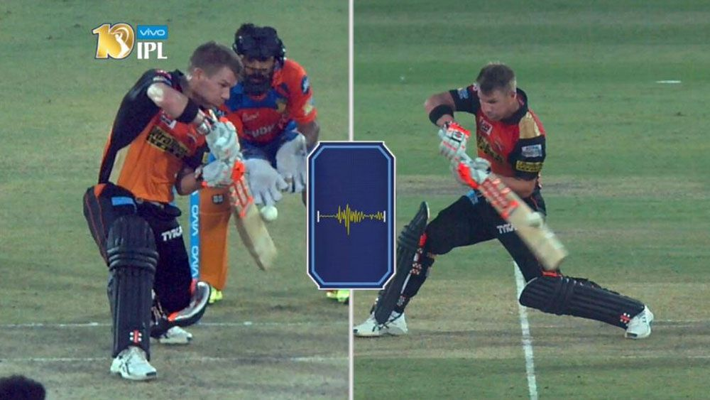 David Warner hits out for Sunrisers Hyderabad as Mumbai Indians hit the summit in the IPL