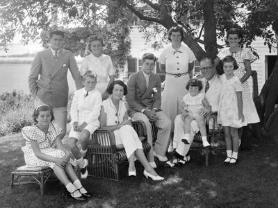 The Kennedy family tree