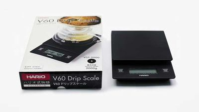 """Hario V60 drip scales, $70, <a href=""""http://shop.singleo.com.au/products/hario-v60-drip-scales """" target=""""_top"""">shop.singleo.com.au</a>"""