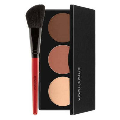 Accentuate the natural hollows of your face with some subtle contouring.