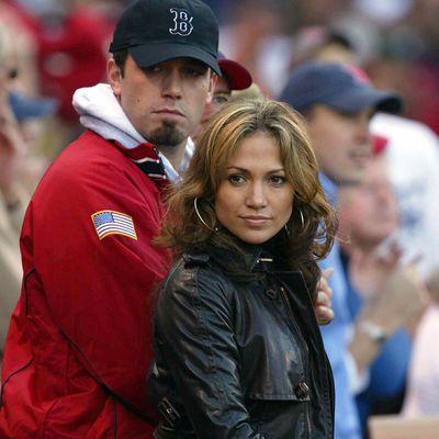 Ben Affleck and Jennifer Lopez: October 2003