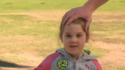 Elsa Simpson is out of hospital. (9NEWS)