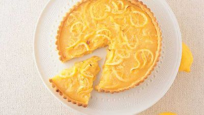 "Recipe: <a href=""http://kitchen.nine.com.au/2016/05/13/12/28/lemon-custard-tart"" target=""_top"">Lemon custard tart</a>"