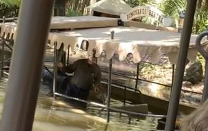 Disney Jungle Cruise ride sinks with passengers on board