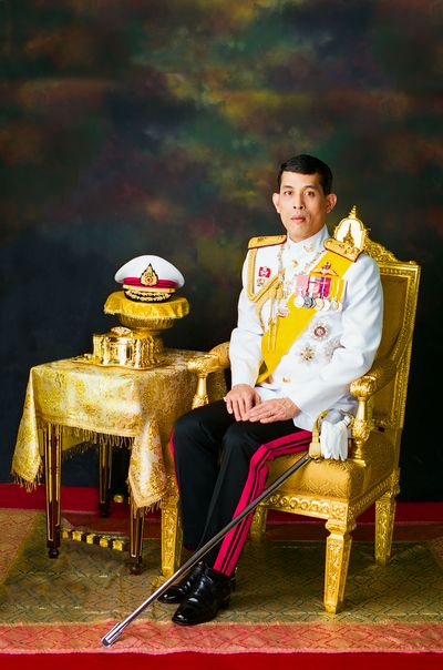 Thailand's King Maha Vajiralongkorn was officially crowned Saturday amid the splendour of the country's Grand Palace, taking the central role in an elaborate centuries-old royal ceremony that was last held almost seven decades ago.