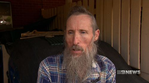 Gerald Clousely was assaulted after he interrupted a gang trying to break into a home next door. (9NEWS)