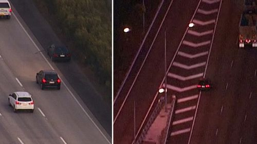 Man arrested near NSW border after alleged high-speed Gold Coast pursuit