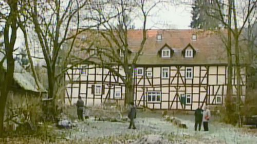 The farmhouse where Armin Meiwes killed and ate his willing victim.