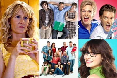 <i>Enlightened</i><br/><i>Episodes</i><br/><i>Glee </i><br/><i>Modern Family</i><br/><i>New Girl</i>