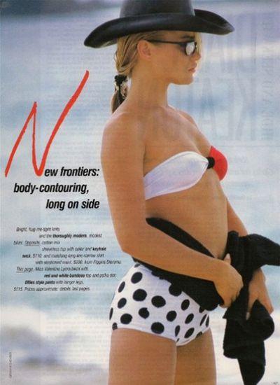Yolanda Hadid for <em>Vogue Australia, </em>1986