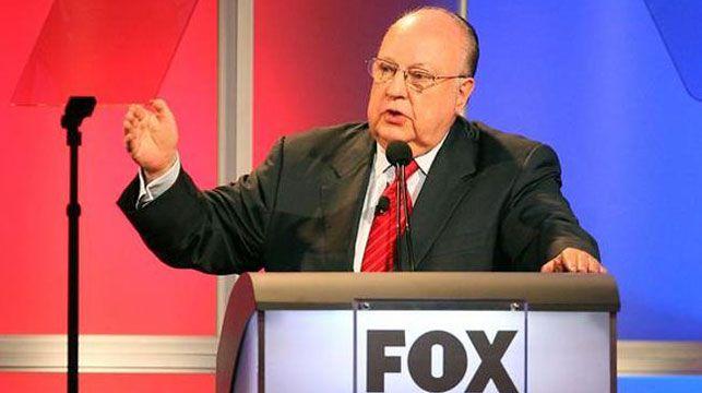 Fox News boss Roger Ailes.