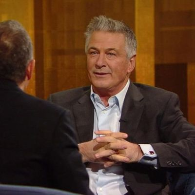 Alec Baldwin on The Alec Baldwin Show