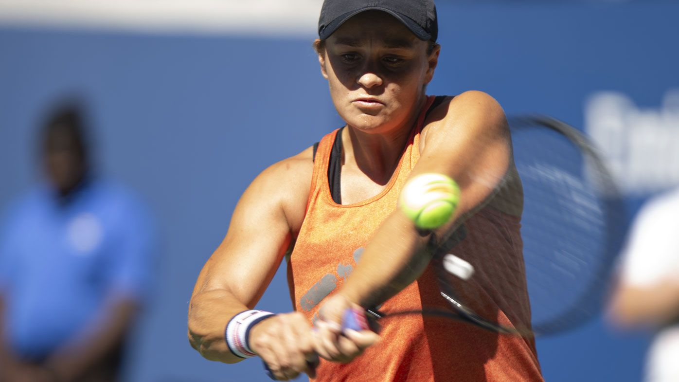 Relaxed Ashleigh Barty embracing US Open 'chaos' as she seeks second Grand Slam