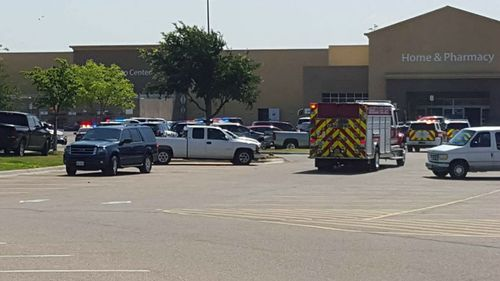 Gunman shot dead after taking hostages inside Texas Walmart store