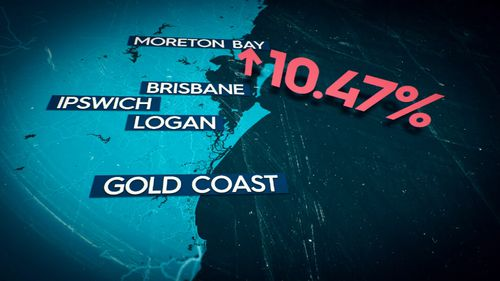 In Queensland's south-east, that could amount to more than a 10 percent jump in prices. Picture: 9NEWS.