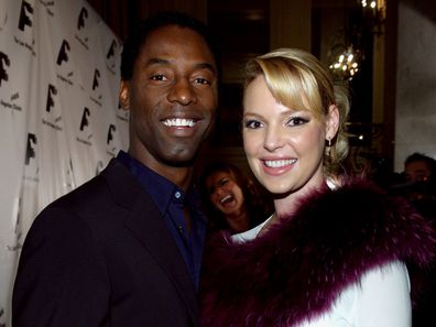 Isaiah Washington and Katherine Heigl starred alongside each other in Grey's Anatomy.