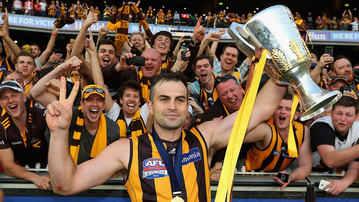 Former Hawthorn star Brian Lake reveals how heartbreak led him on a wicked downward spiral