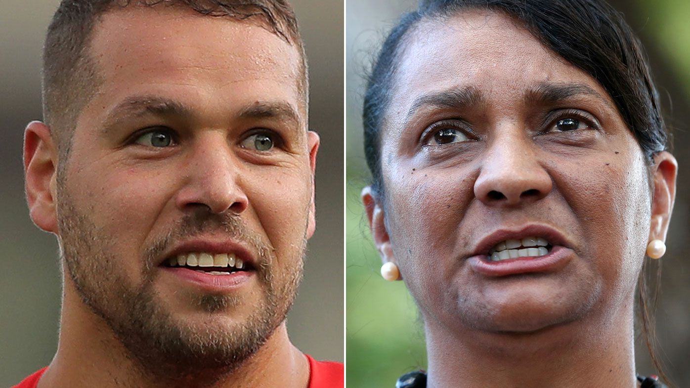 Nova Peris slams Lance Franklin's involvement in Aboriginal flag clothing sales