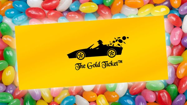 The Golden Ticket contest to win a candy factory