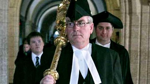 Sergeant-at-Arms Kevin Vickers.