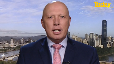 Mr Dutton used the question to take a swipe at the Australian Labor Party.