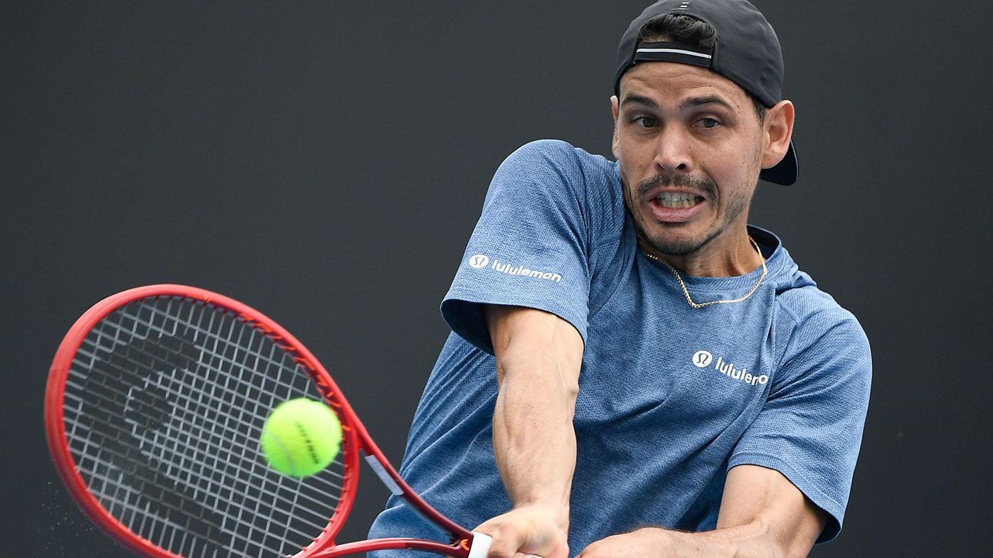 Australian Open: Aussie Alex Bolt defeats Slovakian Norbert Gombos