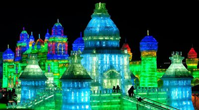<strong>Harbin International Ice and Snow Sculpture Festival, China</strong>