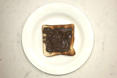 Nutella on toast: 164 calories