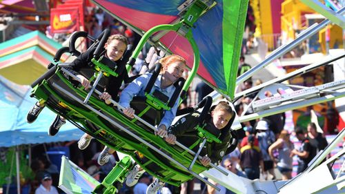 It's possible to do the Ekka on a budget, experts have told 9News. (AAP)
