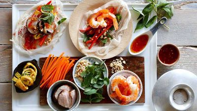 "<strong><a href=""http://kitchen.nine.com.au/2016/05/13/12/34/party-platters-vietnamese-rice-paper-rolls"" target=""_top"">Party platters: Vietnamese rice paper rolls</a> recipe</strong>"