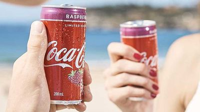 Coca-Cola raspberry limited edition
