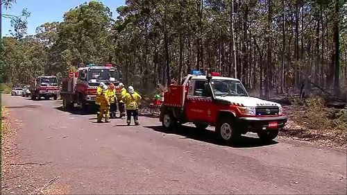More than 150 firefighters are in the field around NSW battling fires and preparing residents.