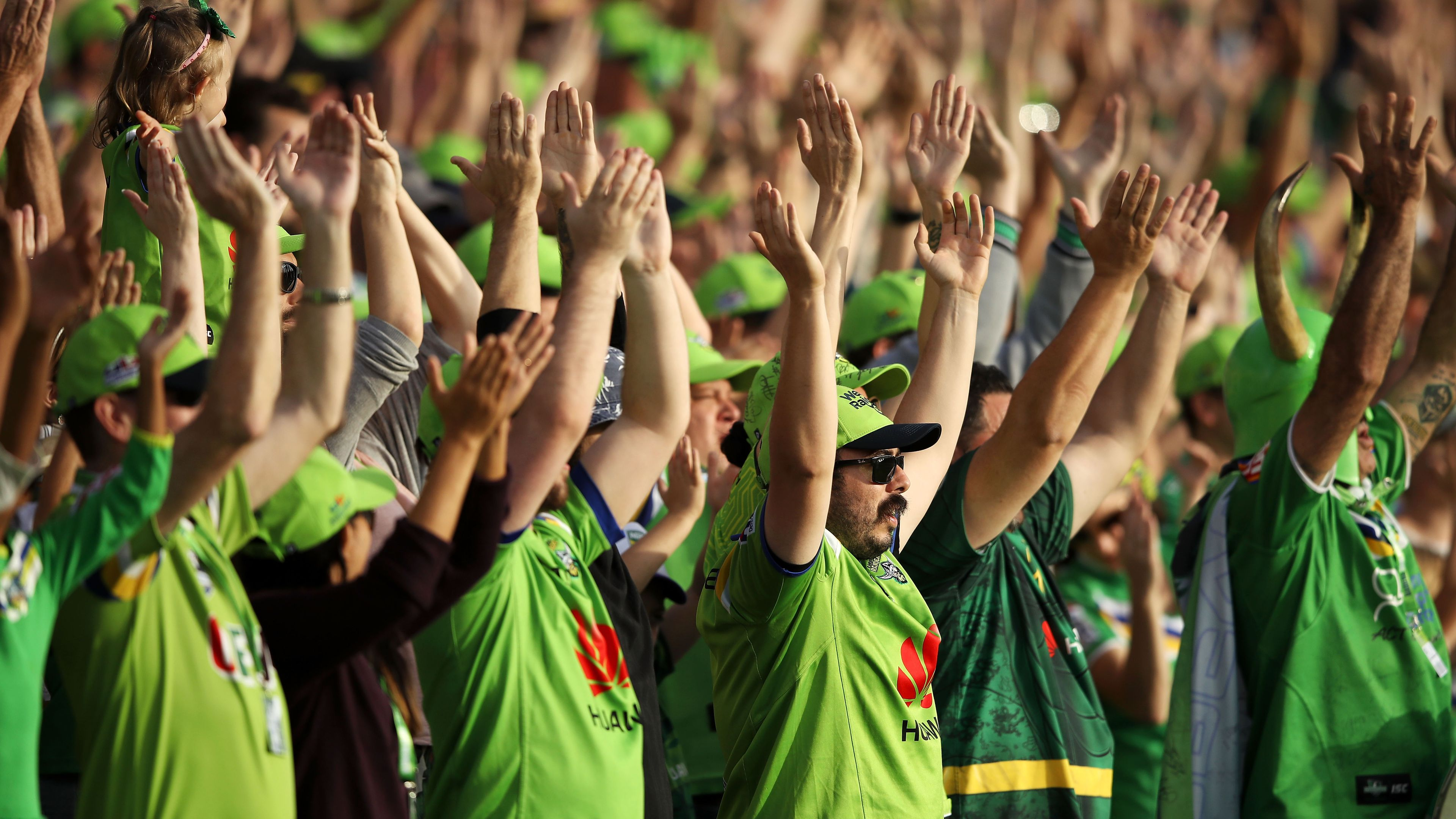 Canberra Raiders fans